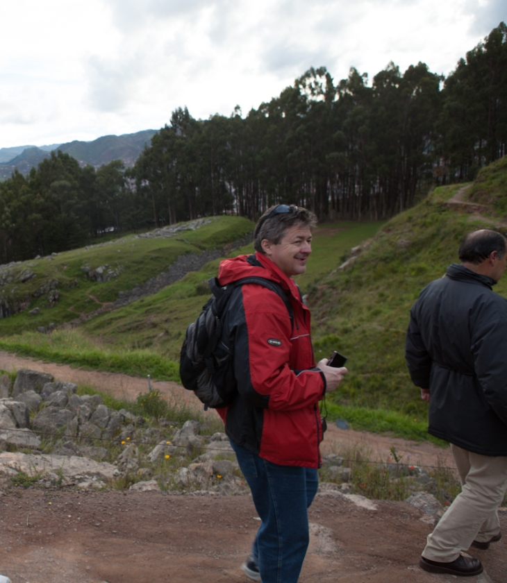 Bogdan Fiedur of Adlandpro is on a Peru vacation