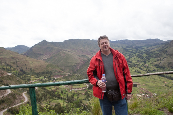 Bogdan Fiedur on a vacation in Peru