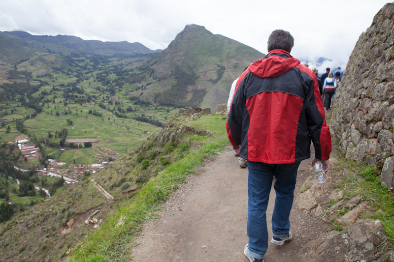 Bogdan Fiedur of Adlandpro hiking in Peru on a vacation