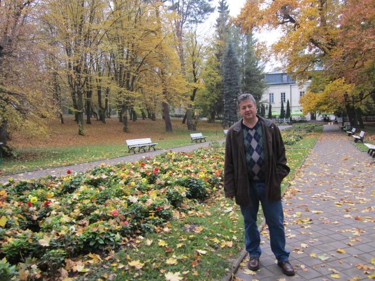 Bogdan Fiedur in Naleczow Poland