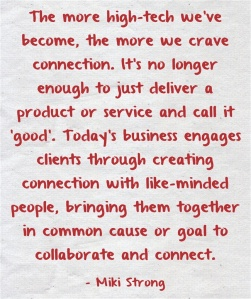 quote by Miki Strong regarding Social media